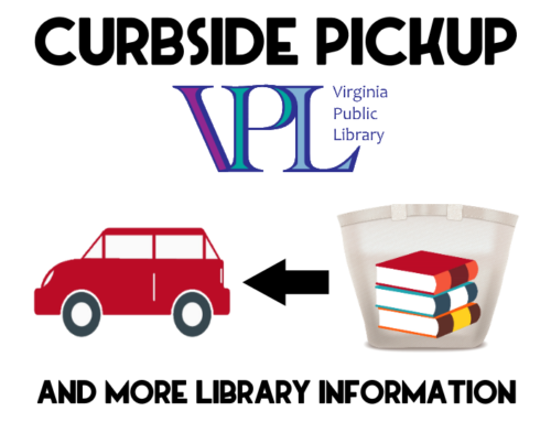 Curbside Pickup @ Virginia Public Library!