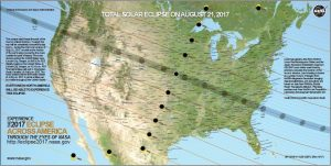 NASA eclipse map
