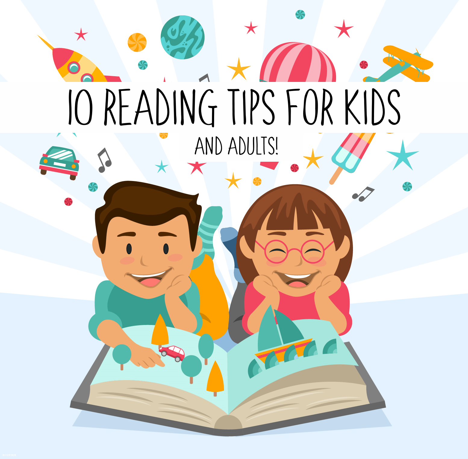 10 Reading Tips for Kids (and Adults)