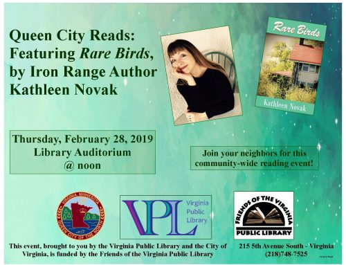 Queen City Reads:  Rare Birds
